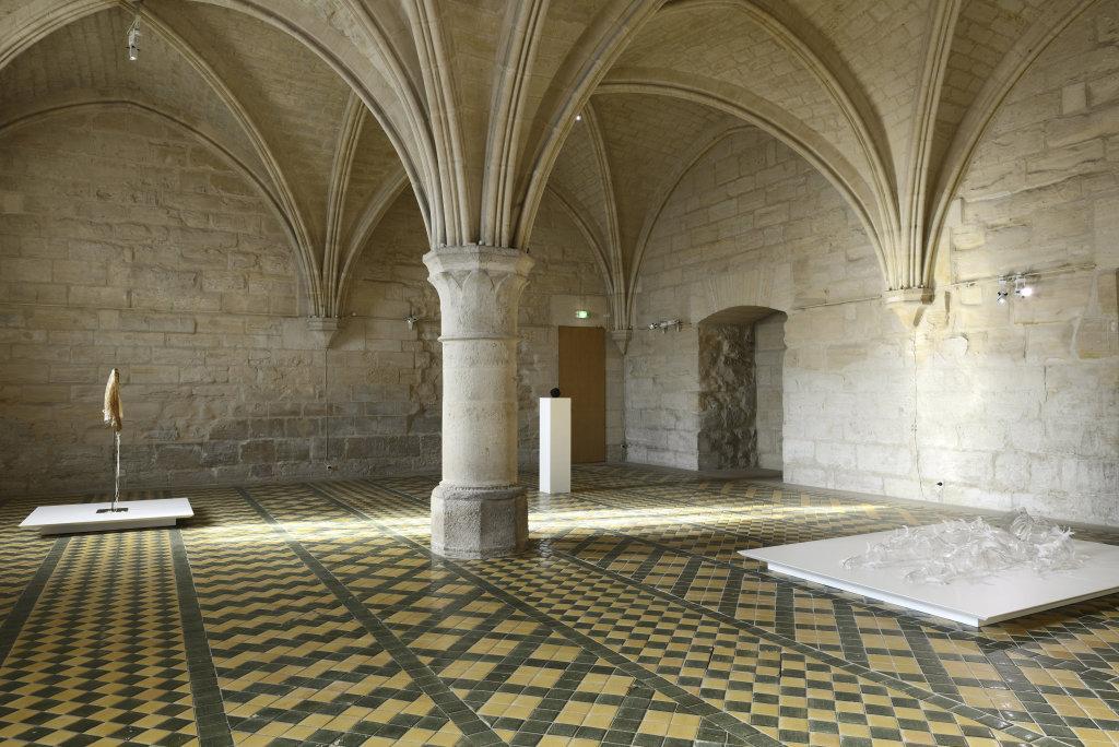 Vue d'ensemble, exposition de Patrick Neu a l abbaye de Maubuisson, Photo C. Brossais-CDVO (4)
