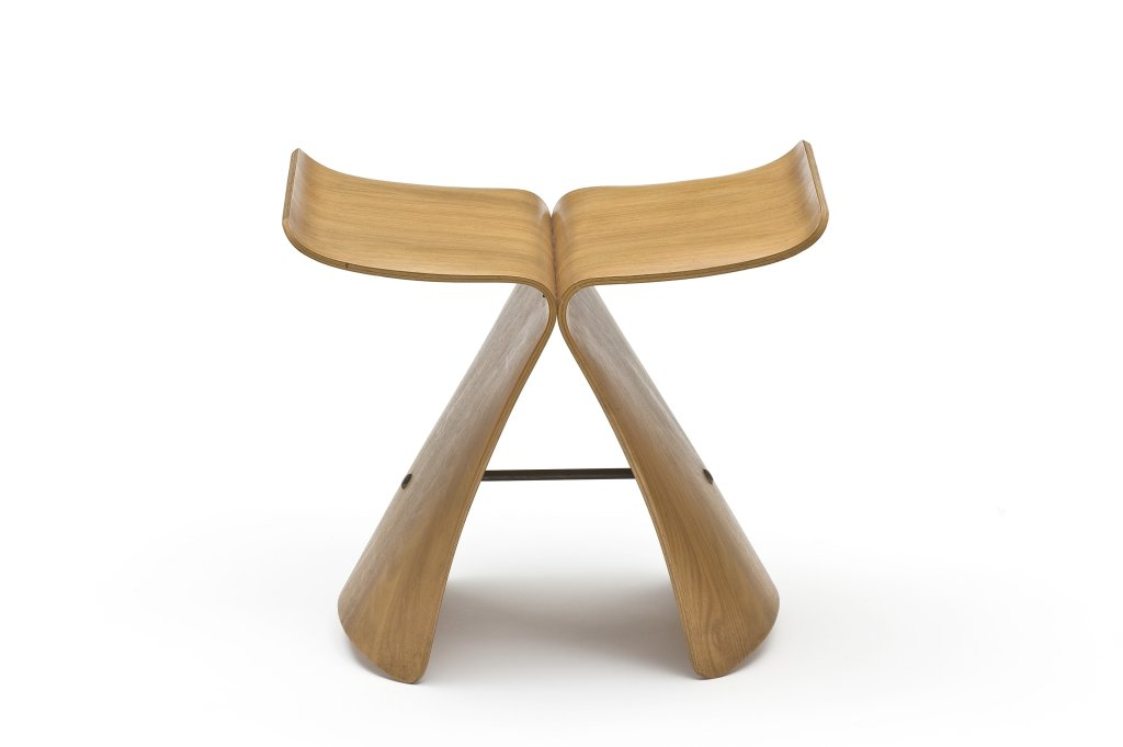 Sori Yanagi, Butterfly stool, 1956