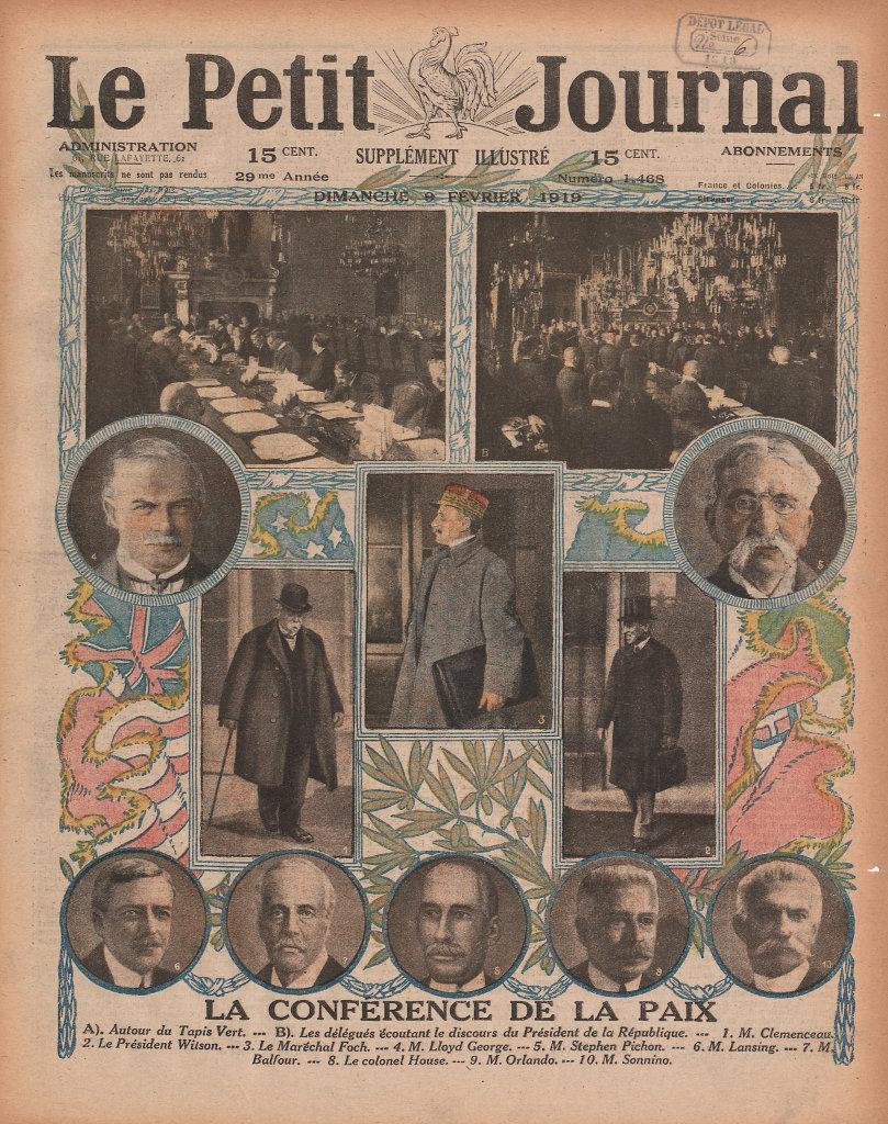 Hebdomadaire Le Petit Journal, 9 février 1919