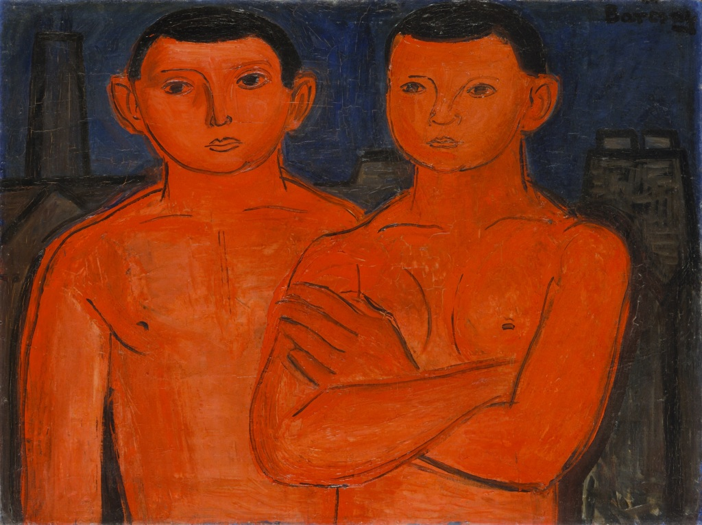 Jenő Barcsay, Red Youths (workers), 1928
