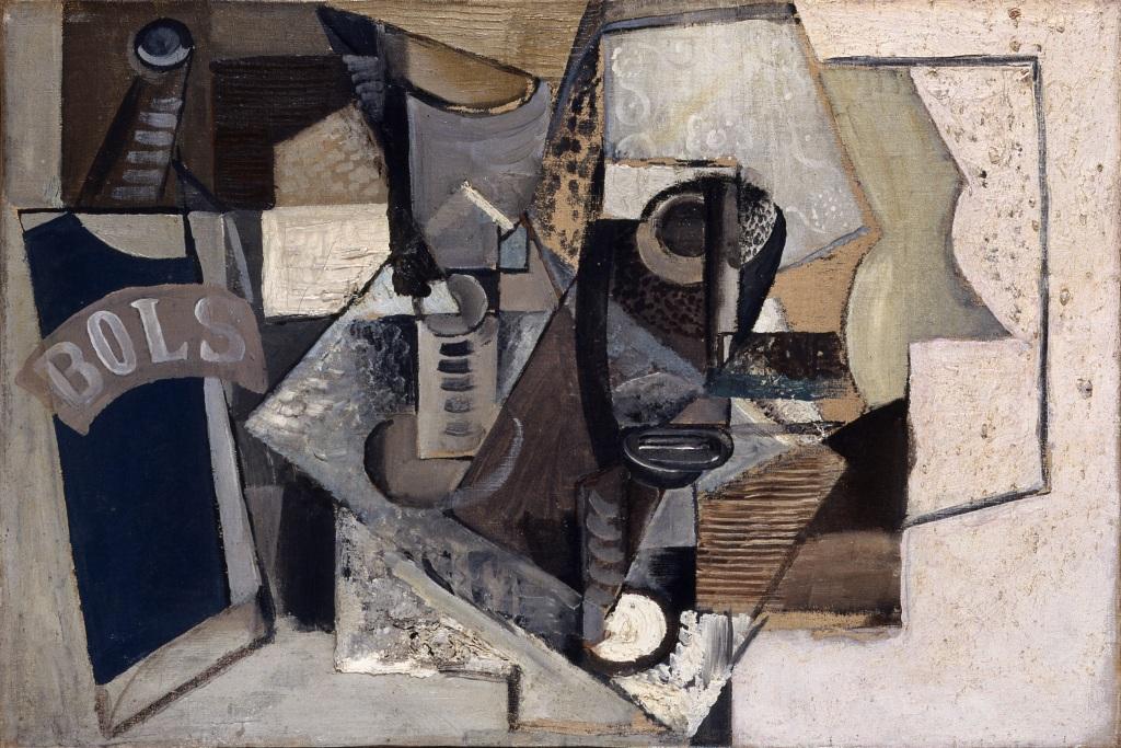 Emil Filla, Still Life Bols, 1914