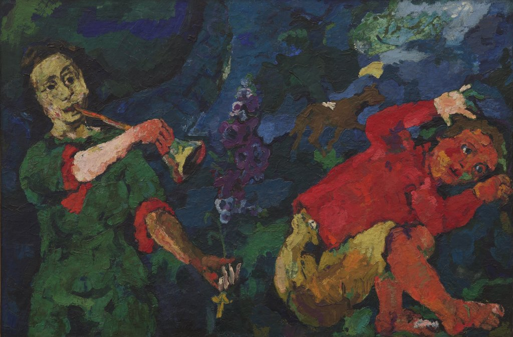 Oskar Kokoschka, The Power of Music, 1918-19