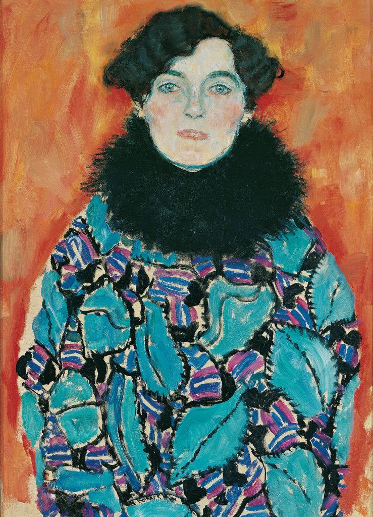 Gustav Klimt, Johanna Staude, 1917-1918