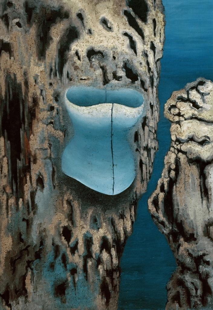 Toyen, Abandoned Cave, 1937