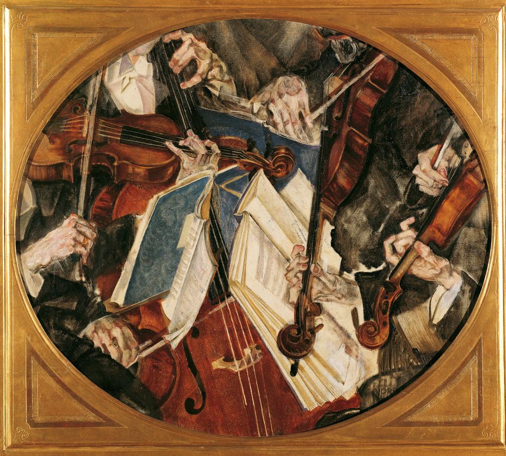 Maximilian Oppenheimer Klingler-Quartet, 1917