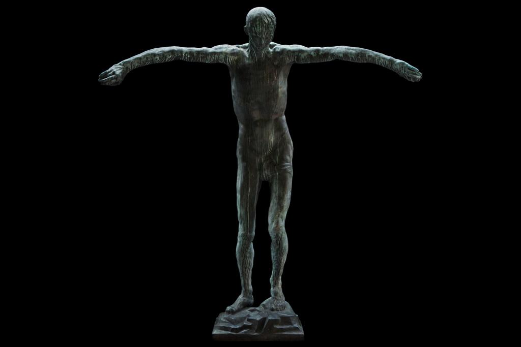 Anton Hanak, Der letzte Mensch (Ecce Homo), 1917–1924