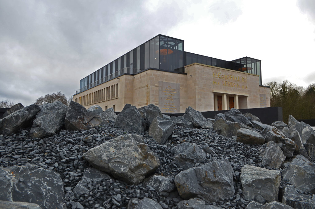 Vue extérieure Mémorial de Verdun