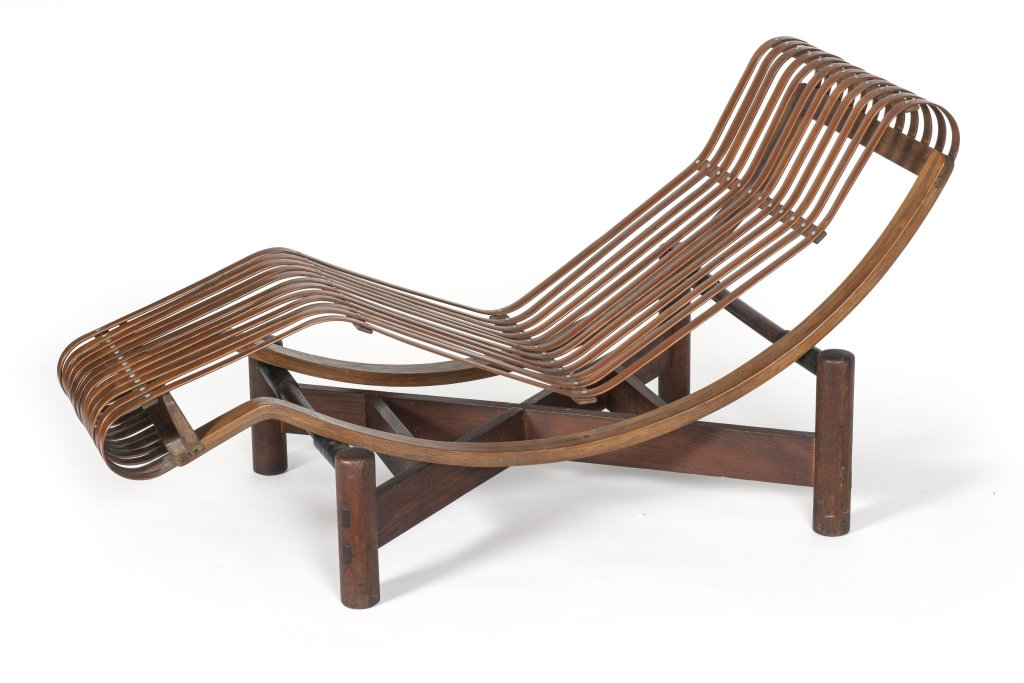 Charlotte Perriand, Chaise longue basculante Japon, 1940