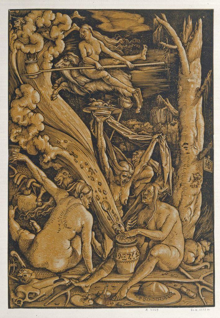 Hans Baldung Grien, Les Sorcières, 1510