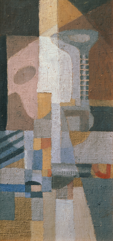 Erika Giovanna Klien, Composition with String instruments, 1923–1924