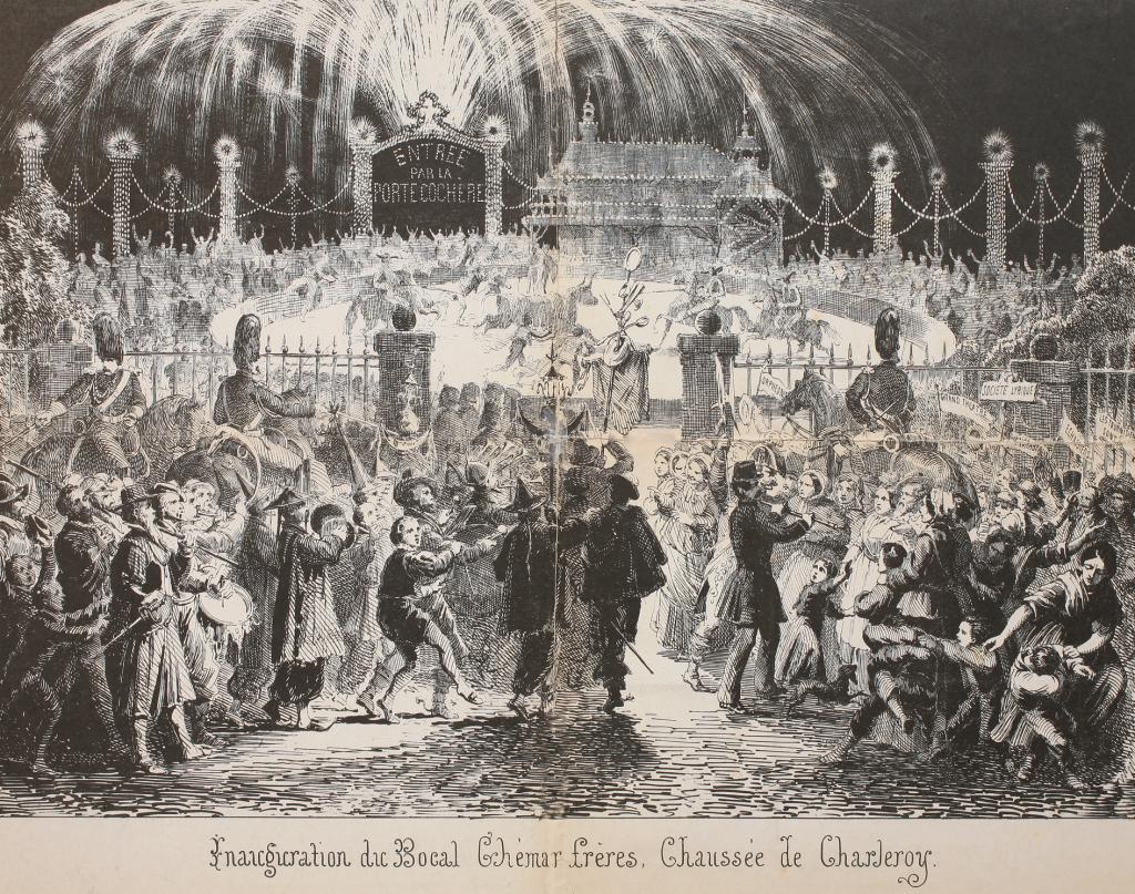 Louis-Joseph Ghémar, Inauguration du bocal des frères Ghémar, 1862