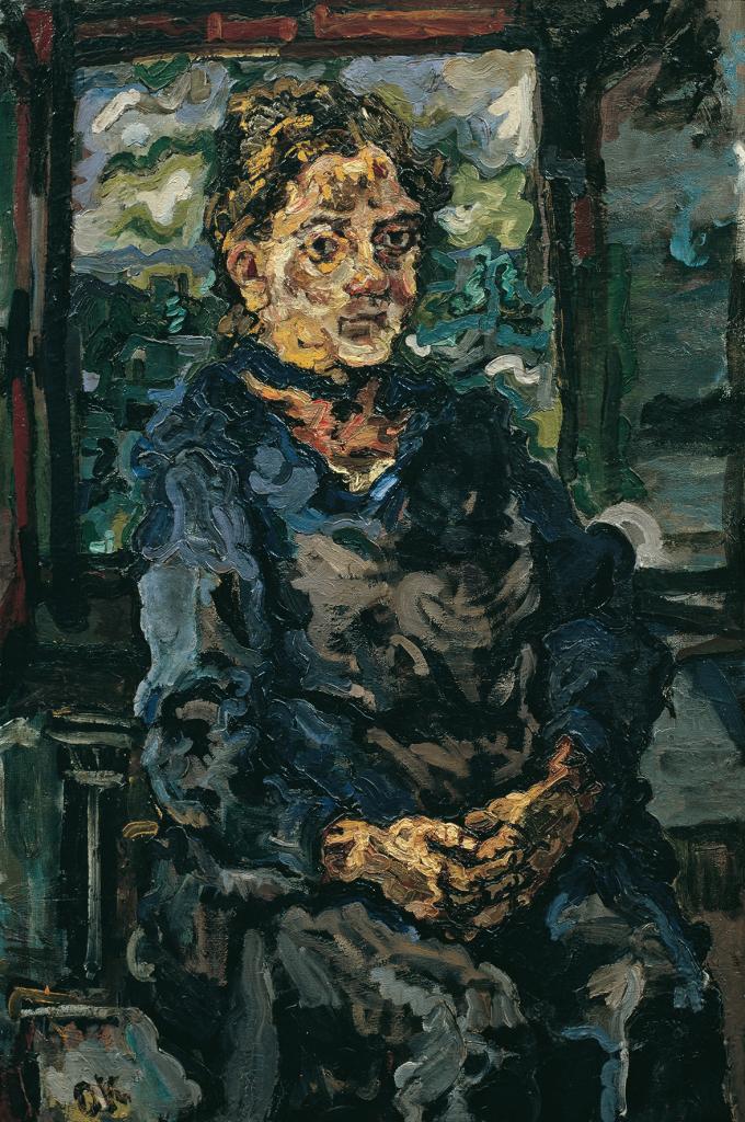 Oskar Kokoschka, Romana Kokoschka, the artist's mother, 1917