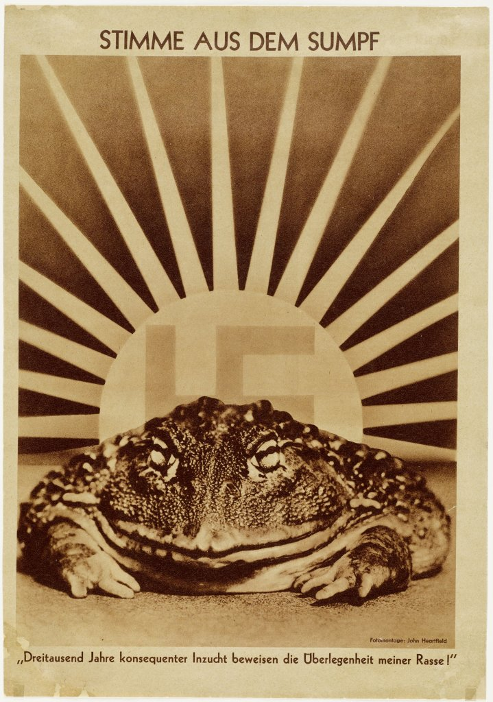 John Heartfield, Voice of the Swamp, 1936