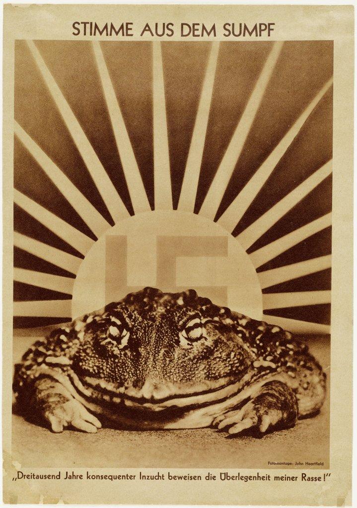 John Heartfield, Voice of the Swamp, 1936