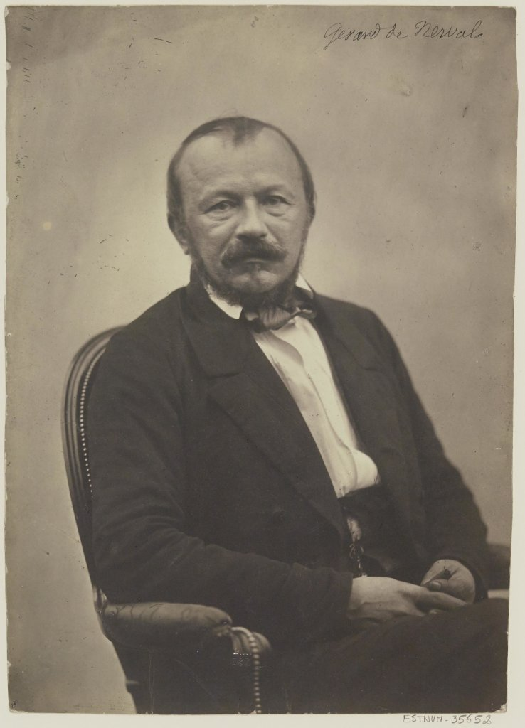 Adrien Tournachon, Gérard de Nerval, 1855