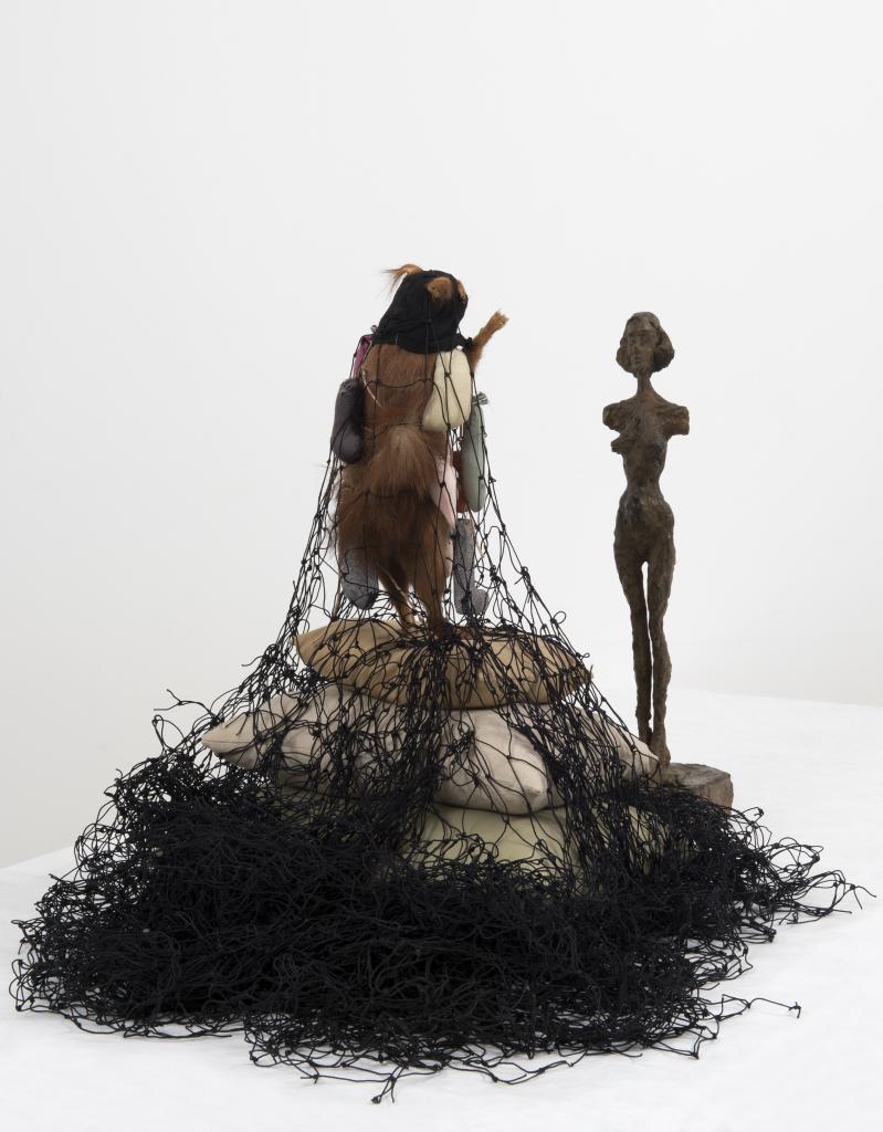 Annette Messager, Alberto Giacometti, La parade de l'écureuil pour Annette