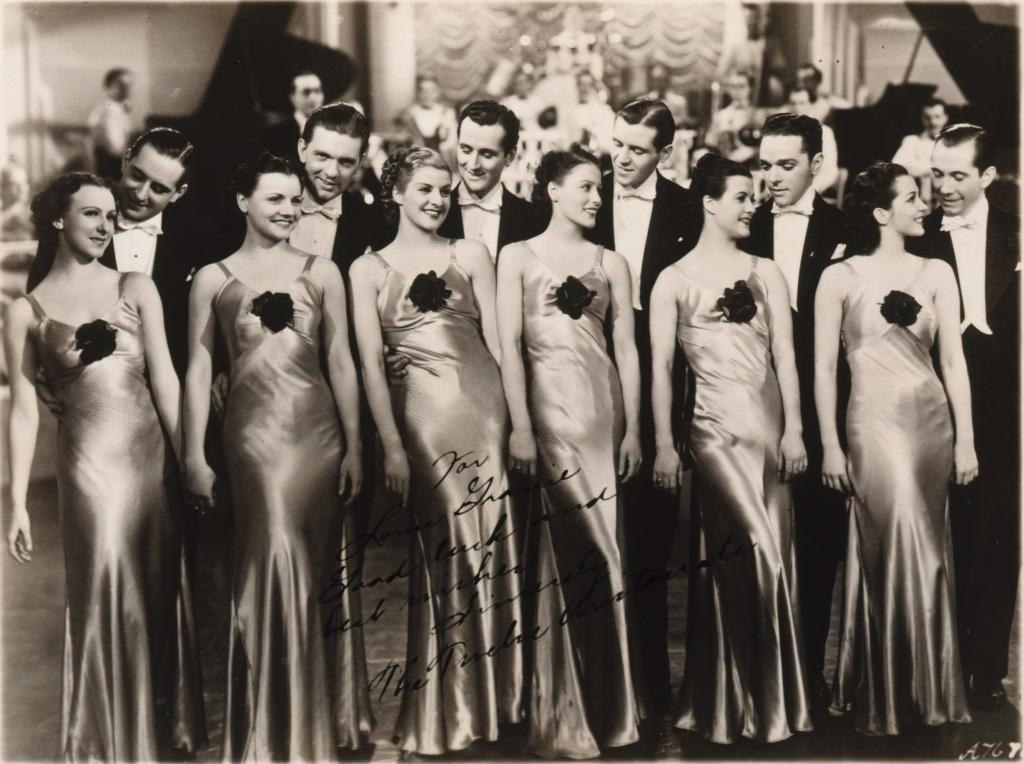 Anonyme, The Twelve Aristocrates, vers 1935. - Vingt-quatre heures de la vie d'une femme au MAMC Saint-Etienne