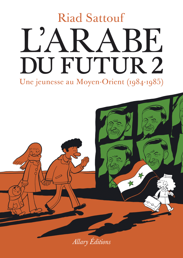 L'arabe du futur 2 de Riad Sattouf