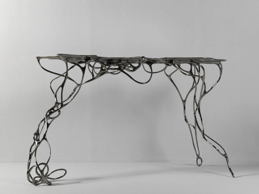 Mathias Bengtsson, Table Growth Table Titanium, 2016