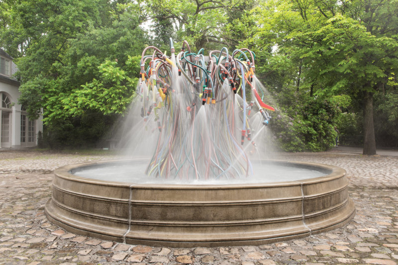 Bertrand Lavier, Fountain - Musée en plein air