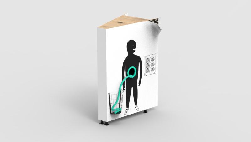 © Microbiote, Atelier Universel, 7 mètres de long