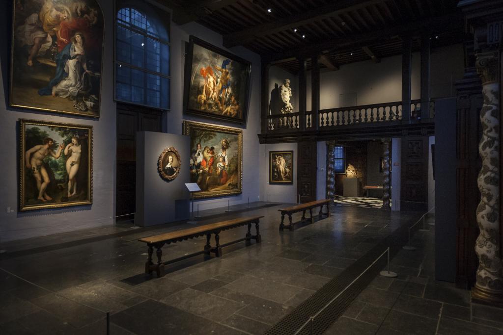 Vue de l'exposition Rubens, le maître chez lui à la Maison de Rubens