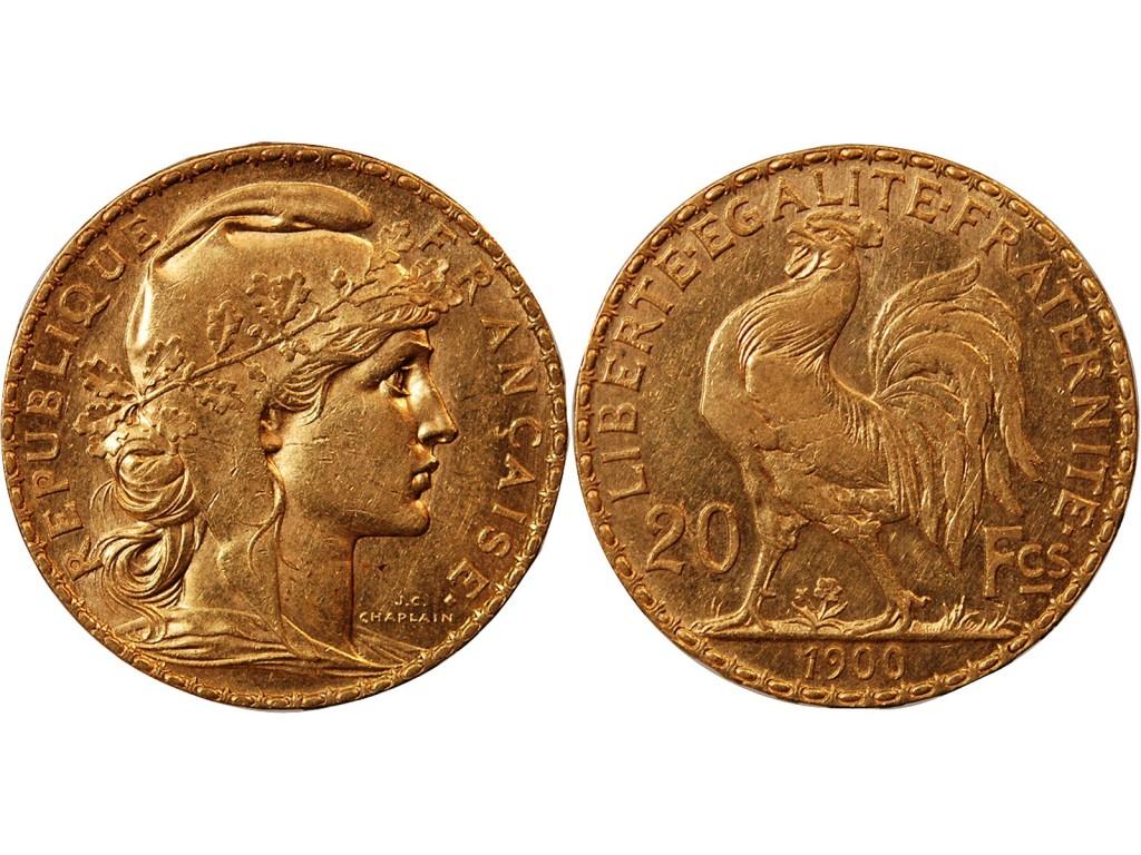 20 francs en or