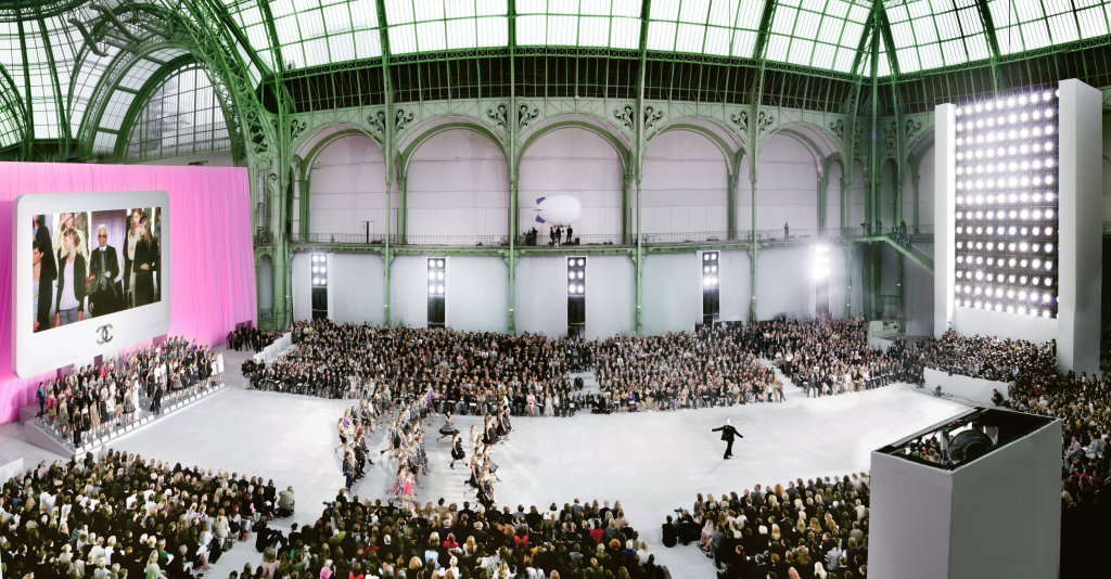 Chanel Couture Grand Palais Paris, 2007