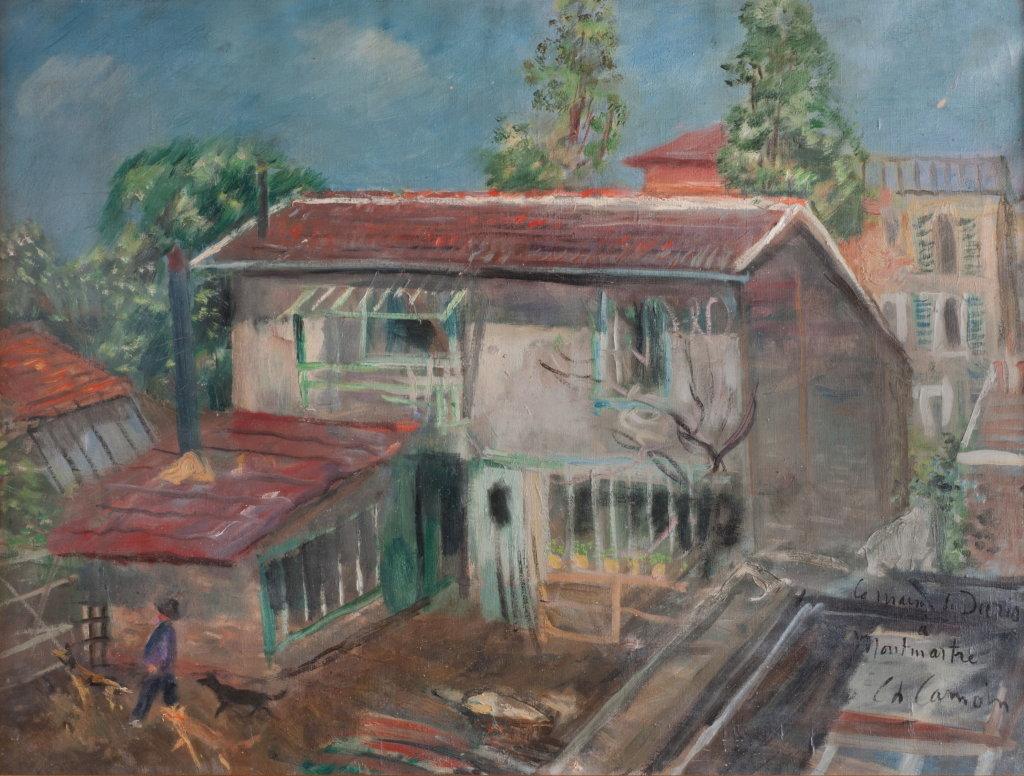 Charles Camoin, La maison de Paco Durrio à Montmartre, 1927