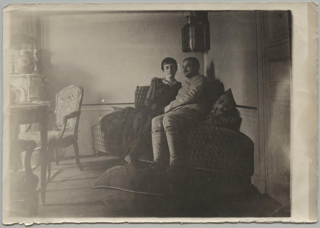 Couple pendant la Grande Guerre
