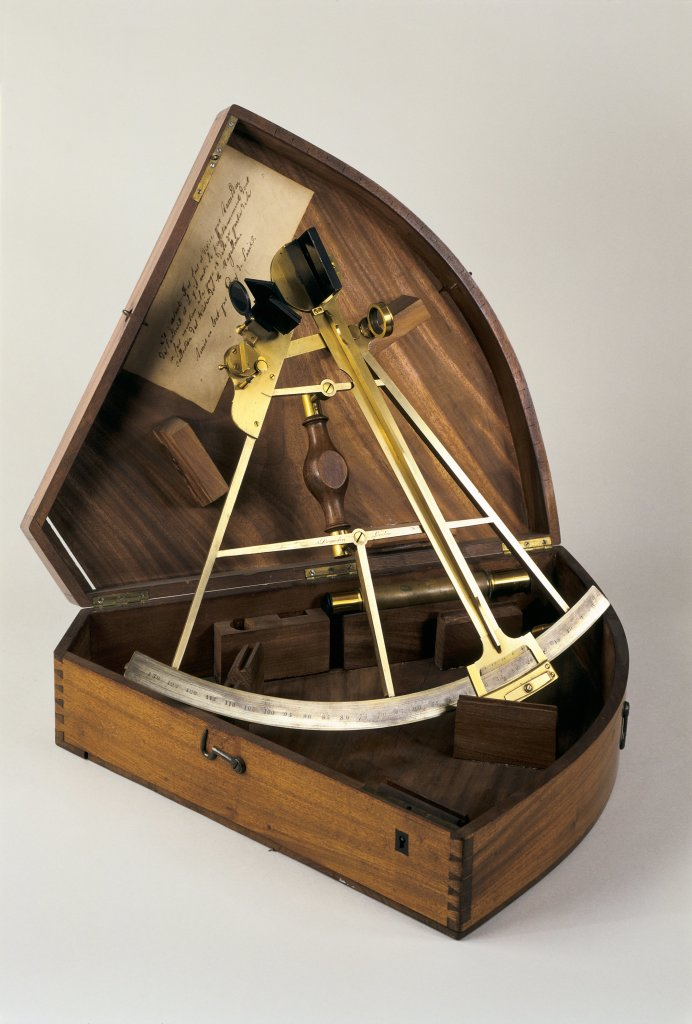 Sextant de Ramsden et son coffret, 1775-1800 - Création de Jesse Ramsden
