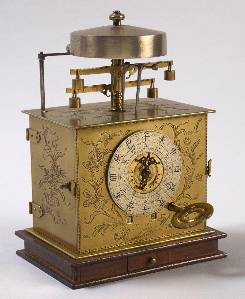 Horloge portative japonaise à heures inégales - Début du XIXe siècle