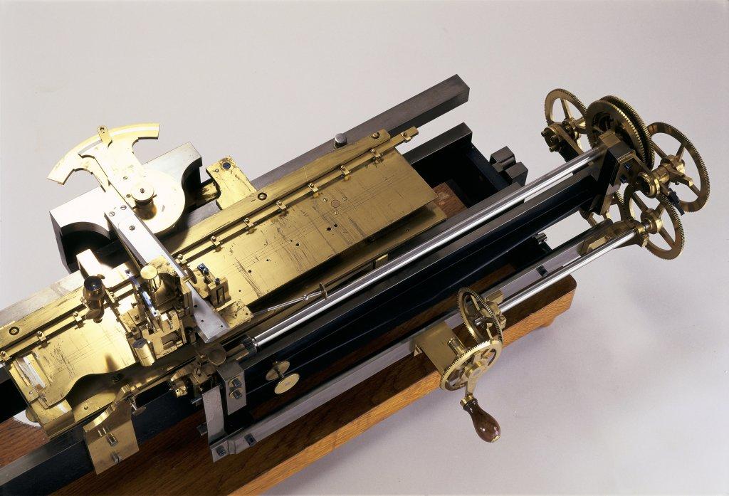 Machine à diviser la ligne droite, 1809-1847 Henry Prudence Gambey, 1787-1847 Ministère de l'Agriculture et du Commerce Mathématiques