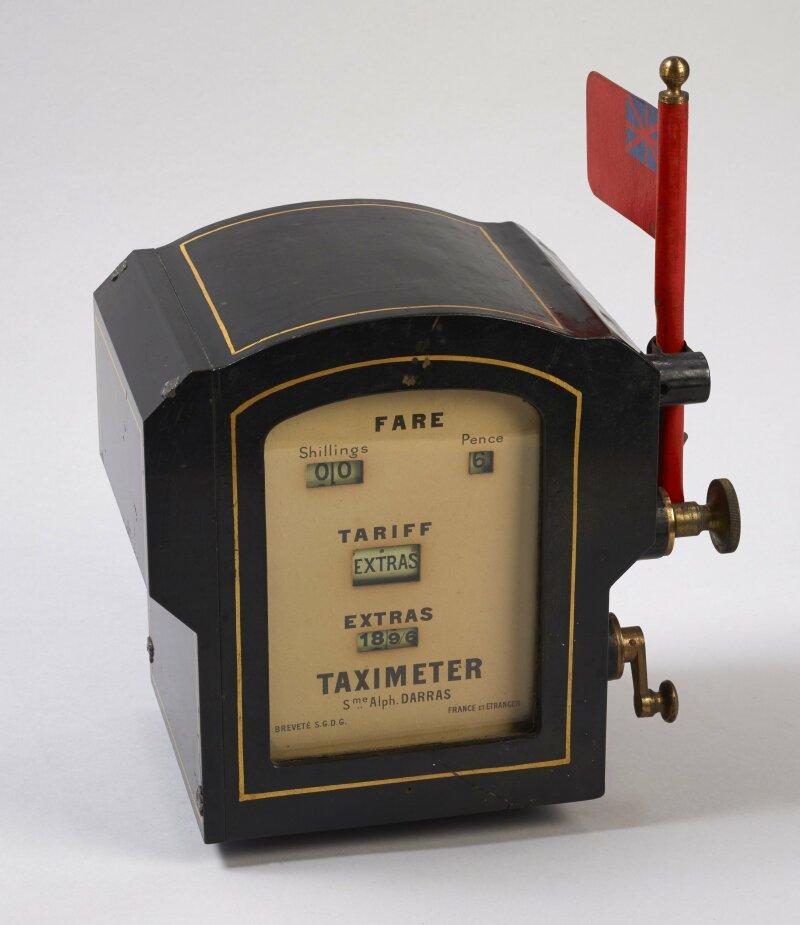 Taximètre Conçu et construit par Alphonse Darras, début du XXe siècle