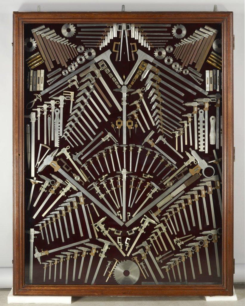 Panoplie d'outils de précision Fabrication G. Makepeace, Paris, vers 1870