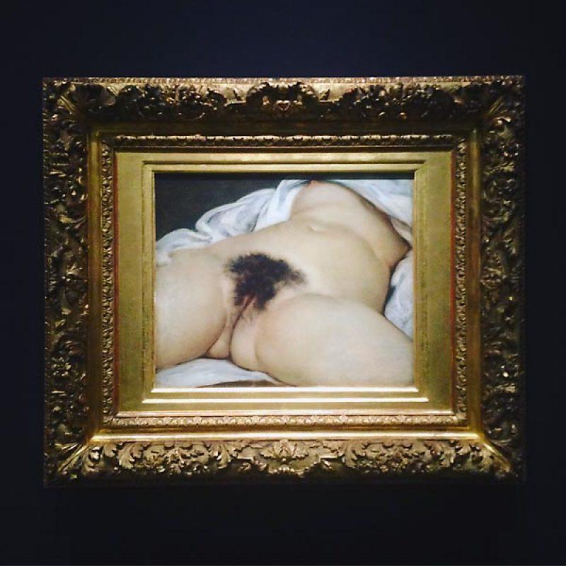 Courbet, Origine du monde, 1866