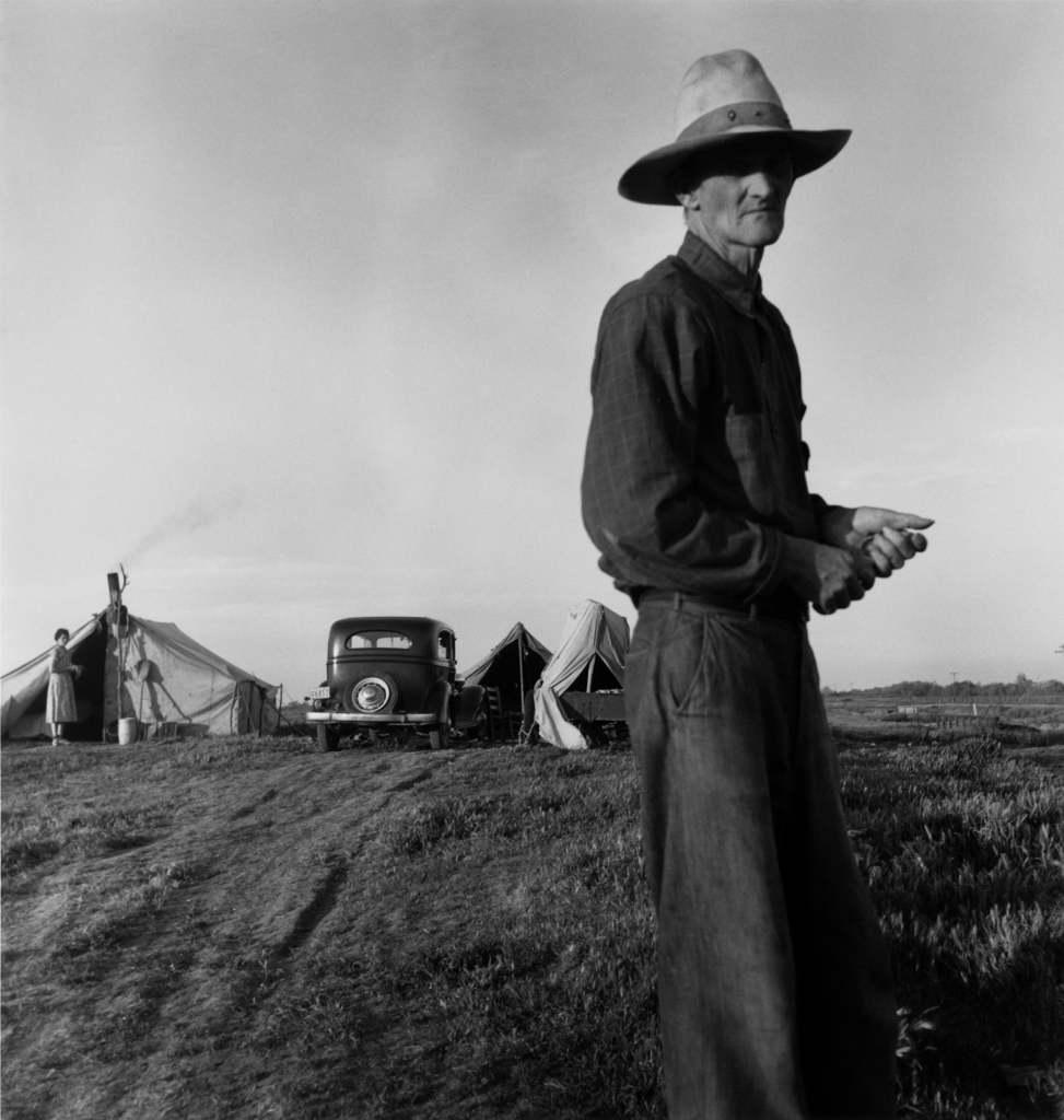 Dorothea Lange, Drought Refugees