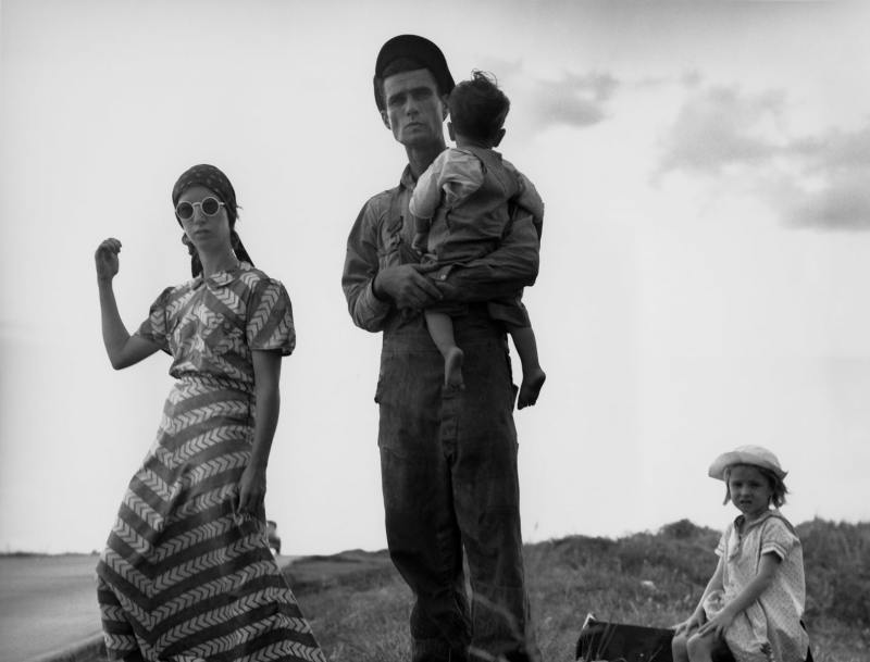 Dorothea Lange, Famille