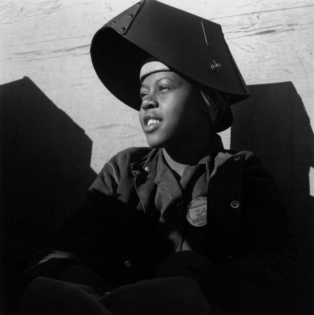 Dorothea Lange, Shipyard Worker