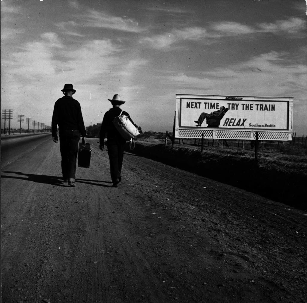 Dorothea Lange, Toward Los Angeles