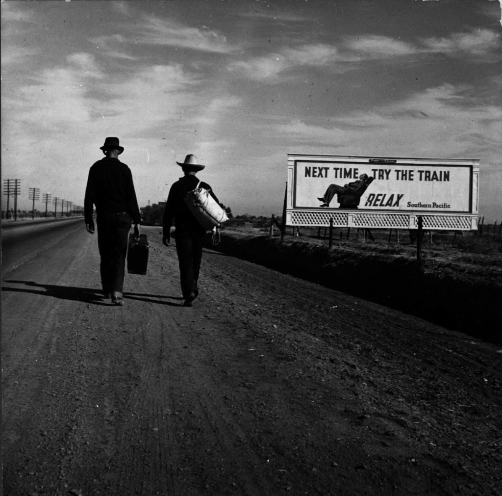 Dorothea Lange, Toward Los Angeles
