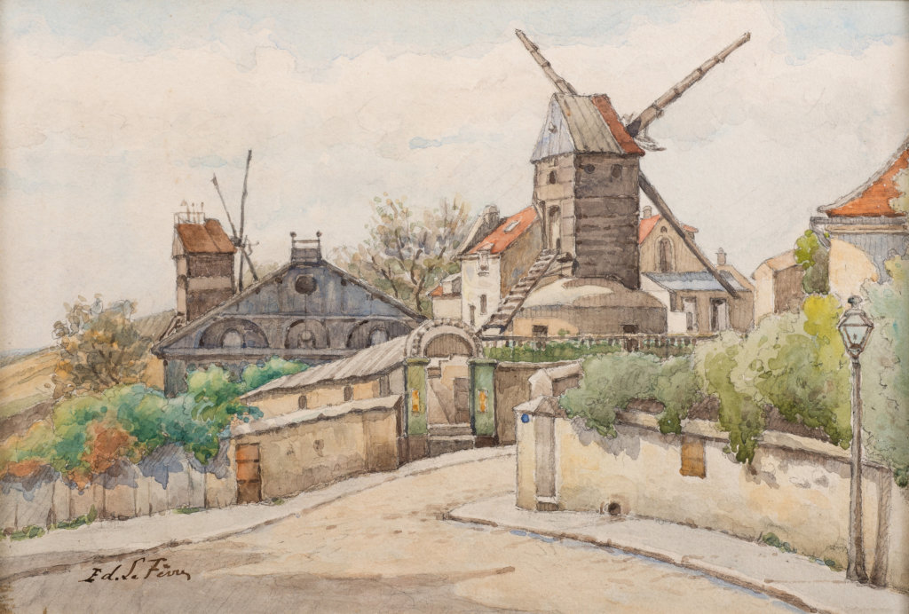 Edouard Lefèvre, Le Moulin de la Galette