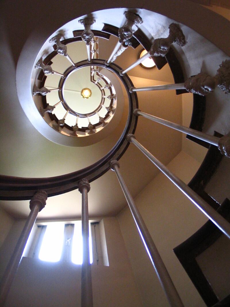 Escalier du Château de Monte-Cristo