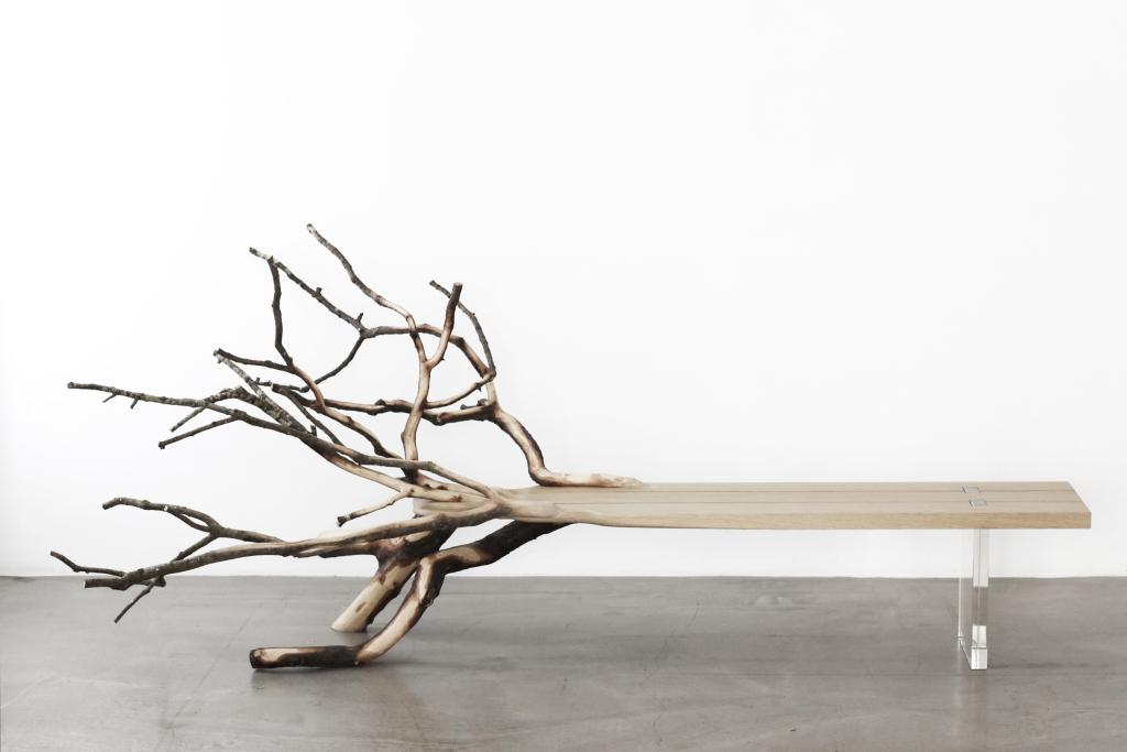 YMER&MALTA / Benjamin Graindorge, Fallen tree, Collection Morning Mist, 2011