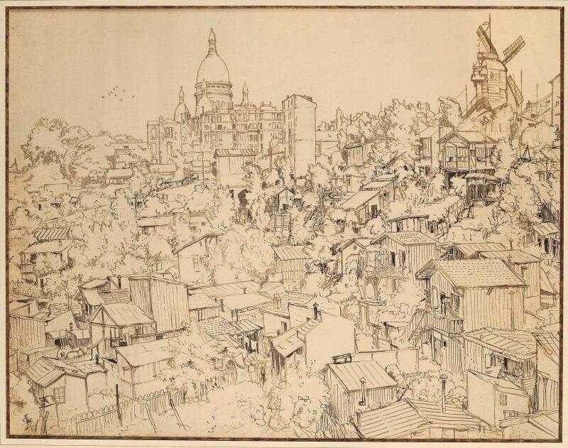 (c) Musée  de  Montmartre,  collection  Le  Vieux  Montmartre