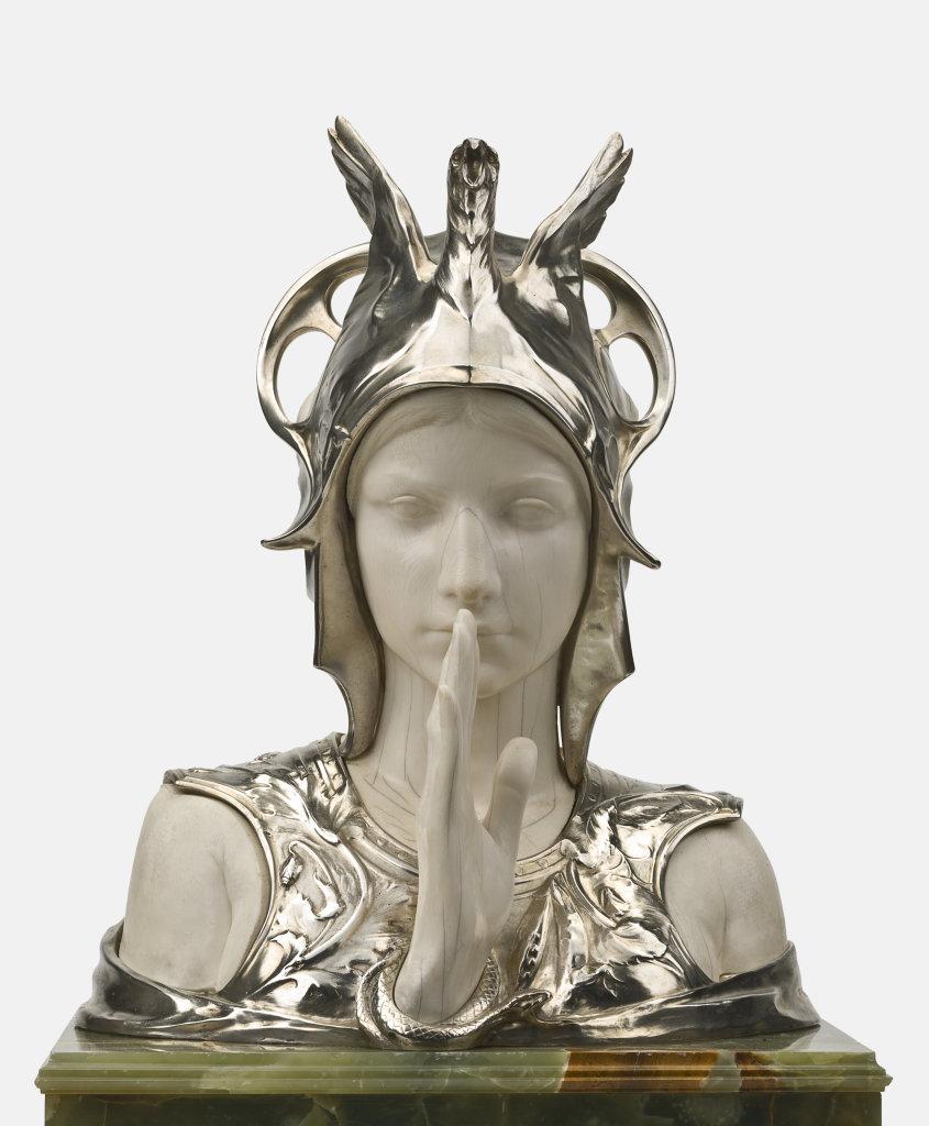 """Sphinx mystérieux"" Charles Van der Stappen (1843-1910) 1897"