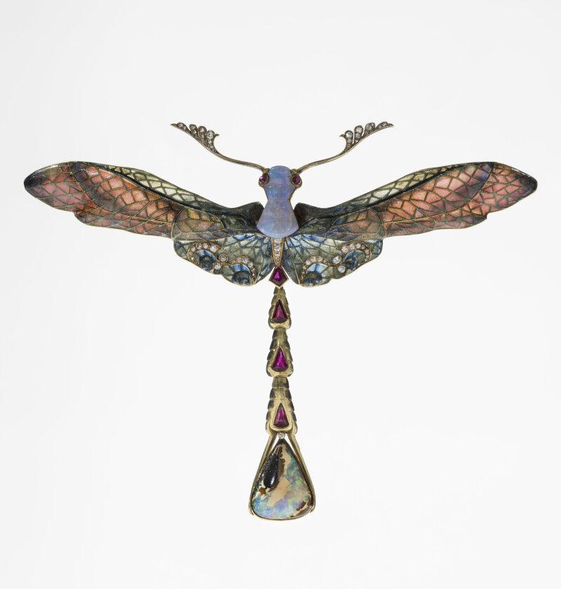 "Pendentif ""Libellule"" Philippe Wolfers (1858-1929) Belgique 1902-1903"