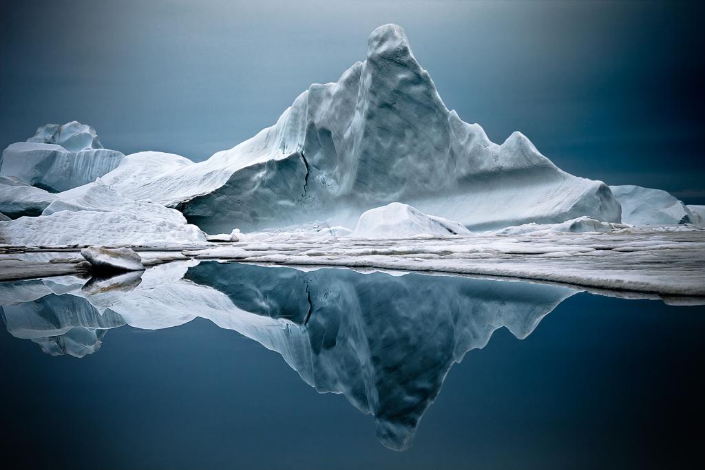 Iceberg, Groenland du Nord