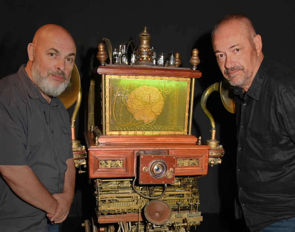 Jean Pierre Jeunet And Marc Caro Exhibition Preview At Halle Saint Pierre
