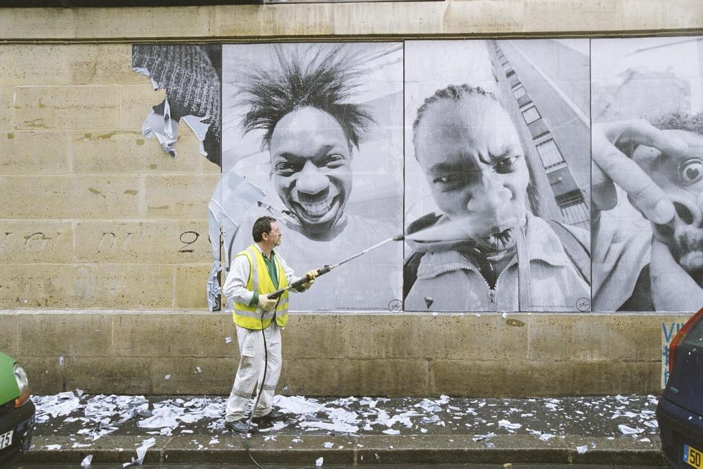 JR, 28 Millimètres, Portrait d'une génération, Kärcher Série, 2006